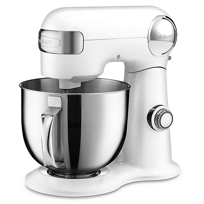Alternate image 1 for Cuisinart® 5.5 qt. Stand Mixer in White
