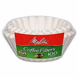 Melitta® 100-Count Basket Coffee Filters