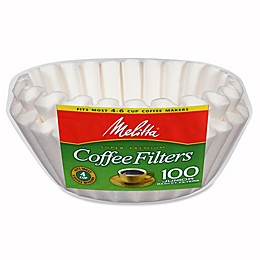 Melitta® 100-Count 4-6 Cup Basket Coffee Filter