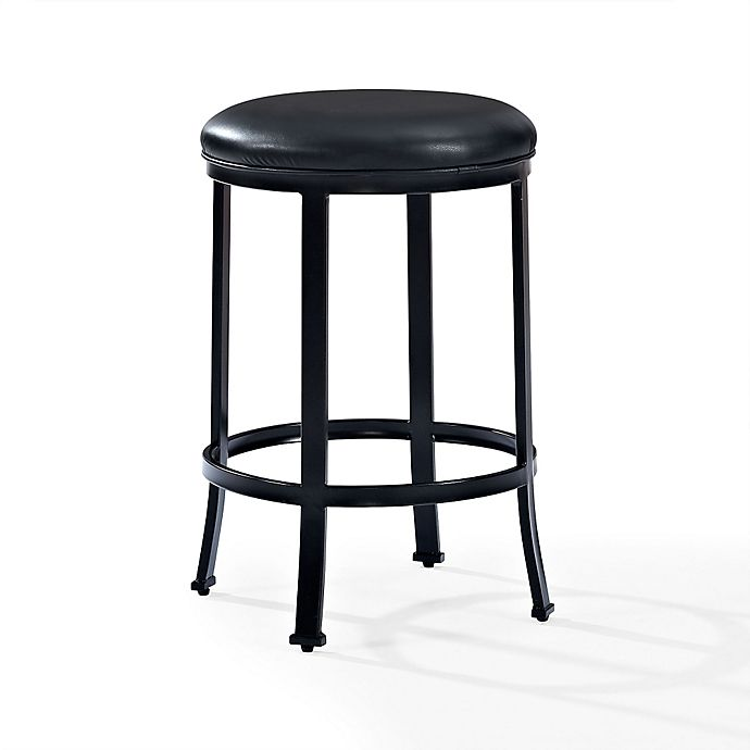 Buy Crosley Windsor Counter Stool In Black From Bed Bath