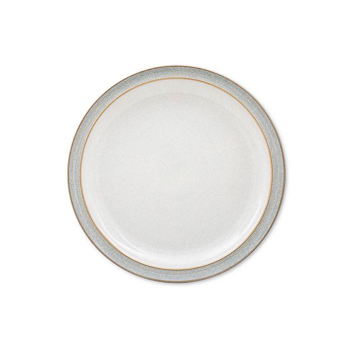 Alternate image 1 for Denby Elements Dinner Plate in Light Grey
