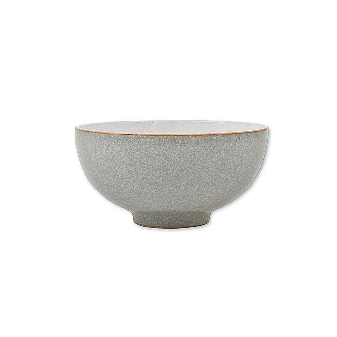Alternate image 1 for Denby Elements Rice Bowl in Light Grey