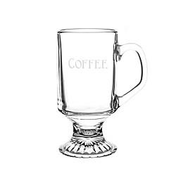 Cathy's Concepts 10 oz. Irish Glass Coffee Mugs (Set of 4)