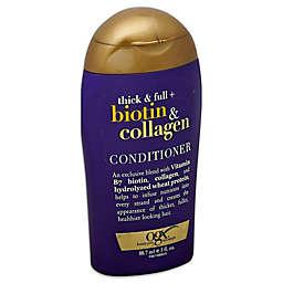 OGX® .3 fl. oz. Biotin and Collagen Conditioner
