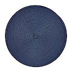 Round Placemat in Navy
