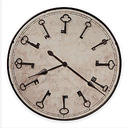 Howard Miller® Cle Du Ville Round Wall Clock in Rubbed Bronze