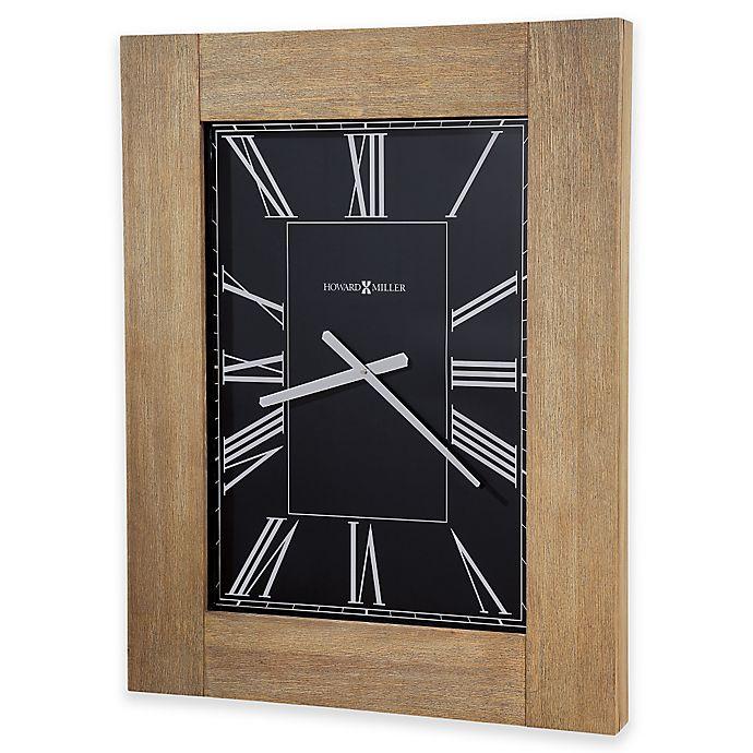 Alternate image 1 for Howard Miller® 34-Inch Penrod Rectangular Wall Clock