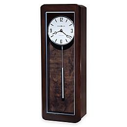 Howard Miller® Aaron Rectangular Wall Clock in Black Coffee