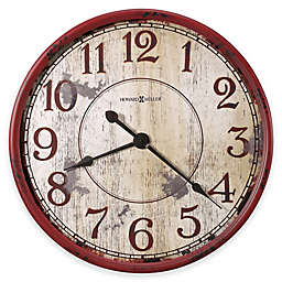 Howard Miller® 32-Inch Back 40 Wall Clock in Antique Red