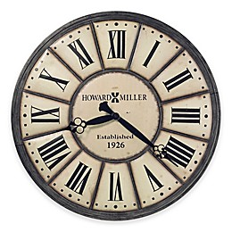 Howard Miller Company Time Wall Clock in Off White