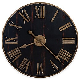 Howard Miller Murray Grove Wall Clock in Black