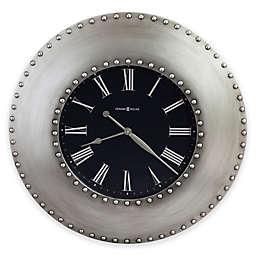 Bokaro 33-Inch Oversized Gallery Wall Clock in Antique Nickel