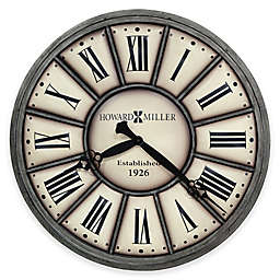 Howard Miller Company Time II Wall Clock in Antique Nickel
