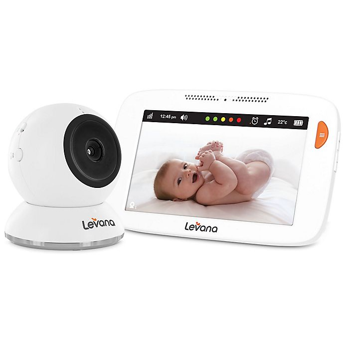 Alternate image 1 for Levana® Shiloh™ 32200 5-inch HD Touchscreen Baby Video Monitor