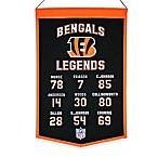 NFL Cincinnati Bengals Legends Banner