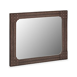 INK+IVY Benicia 42-Inch x 36-Inch Wall Mirror in Grey