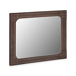 INK+IVY Benicia 42-Inch x 36-Inch Wall Mirror in Grey