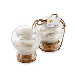 Kate Aspen® Sand and Shell Tealight Holder Favor