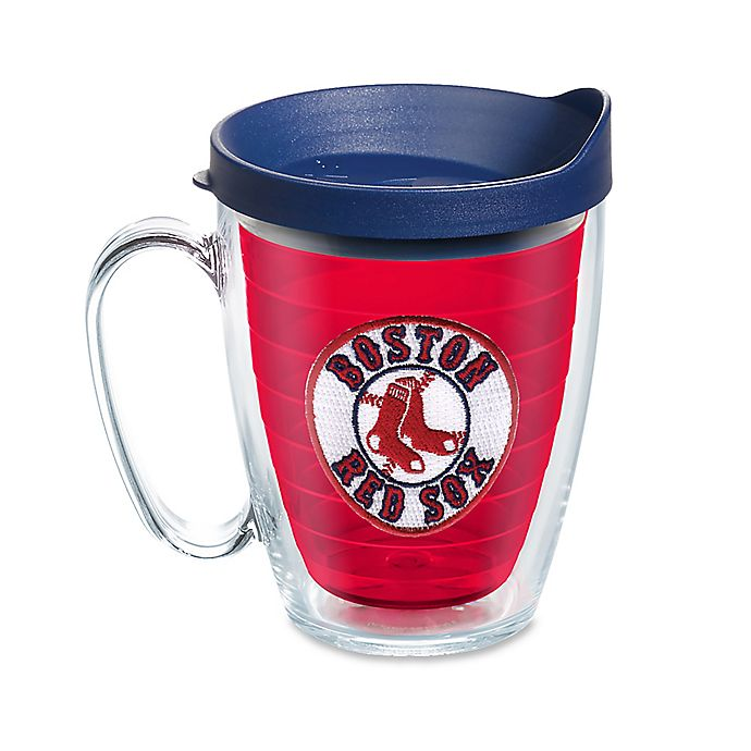 Alternate image 1 for Tervis® Tumbler MLB Boston Red Sox 16 oz. Mug with Lid