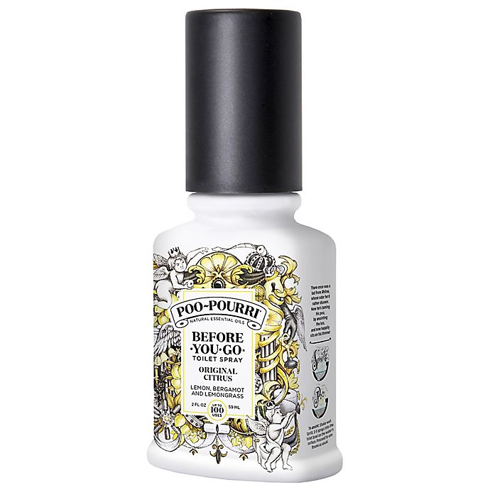 Alternate image 1 for Poo-Pourri® Before-You-Go® 2 oz. Toilet Spray in Original Citrus