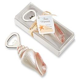 Kate Aspen® Shore Memories Sea Shell Bottle Opener Favor