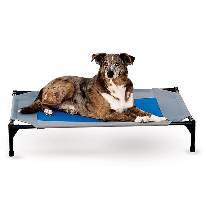 Alternate image 1 for K&H™ Coolin' Pet Cot™ in Grey/Blue