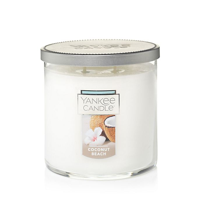 Alternate image 1 for Yankee Candle® Coconut Beach Medium Tumbler Candle
