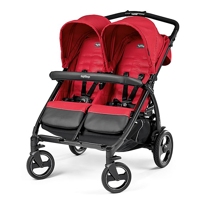 Alternate image 1 for Peg Perego Book for Two Double Stroller in Mod Red