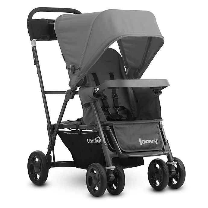 Alternate image 1 for Joovy® Caboose Ultralight Graphite Stand-On Tandem Stroller in Grey