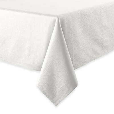 Waterford® Linens Sarah Tablecloth in White