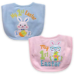 """Hamco """"My First Easter"""" Applique Bib"""