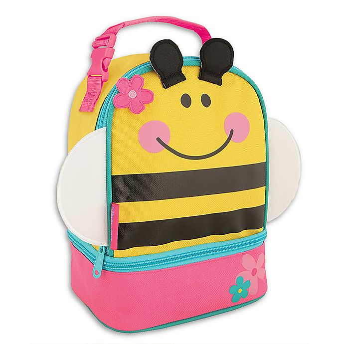 Alternate image 1 for Stephen Joseph® Bee Lunch Pals Bag in Yellow