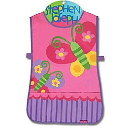 Stephen Joseph® Butterfly Craft Apron in Pink