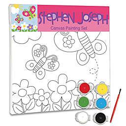 Stephen Joseph™ Butterfly Canvas Set
