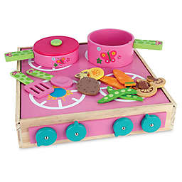 Stephen Joseph®  Butterfly Wooden Play Cook Set