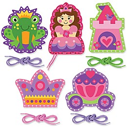 Stephen Joseph® Princess Lacing Cards (Set of 5)