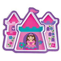 Stephen Joseph® Melamine Princess Tray in Pink