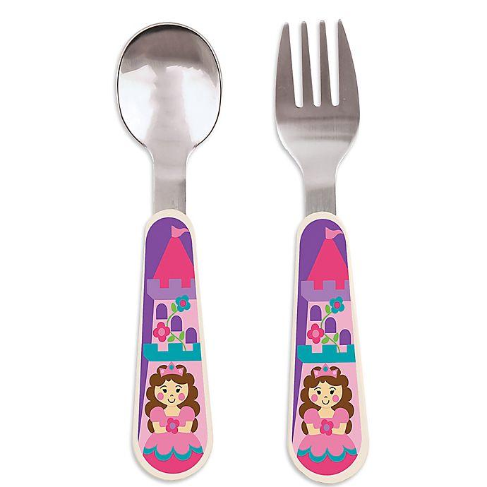 Alternate image 1 for Stephen Joseph® Princess Silverware Set
