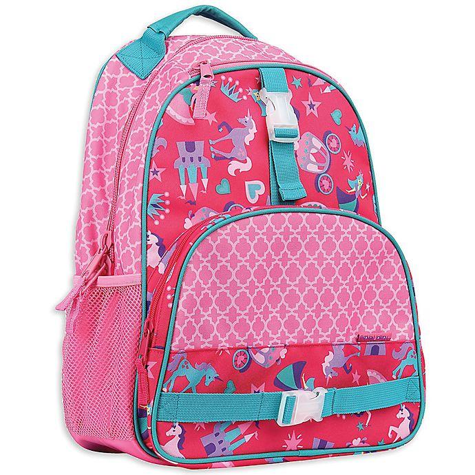 Alternate image 1 for Stephen Joseph® Princess Backpack in Pink