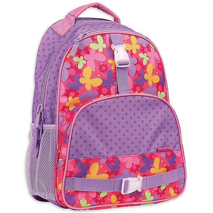 Alternate image 1 for Stephen Joseph® Butterfly Backpack in Purple