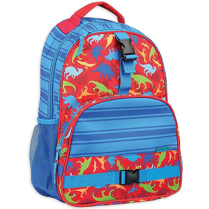 Alternate image 1 for Stephen Joseph® Dinosaur Backpack in Blue
