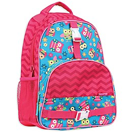 Stephen Joseph® Owl Backpack in Pink