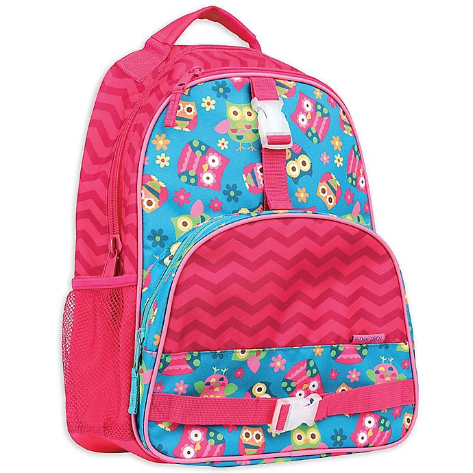 Alternate image 1 for Stephen Joseph® Owl Backpack in Pink
