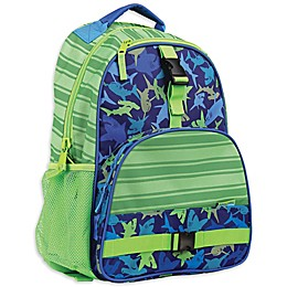 Stephen Joseph® Shark Backpack in Green
