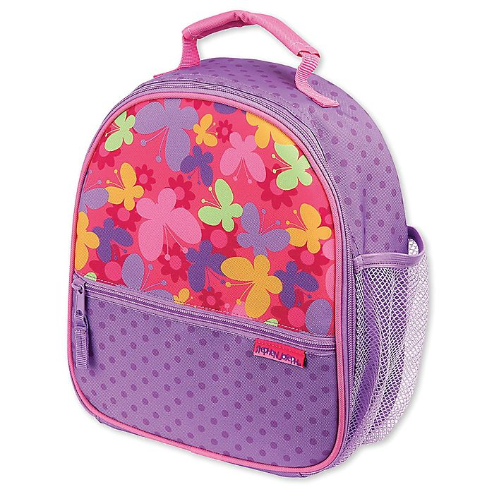 Alternate image 1 for Stephen Joseph® Butterfly Lunchbox in Purple