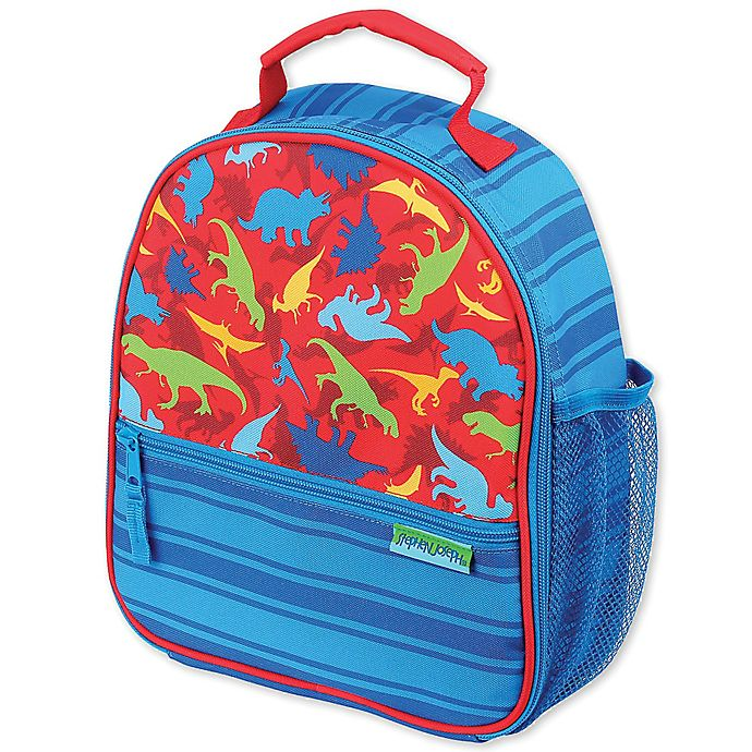 Alternate image 1 for Stephen Joseph® Dinosaur Lunchbox in Blue
