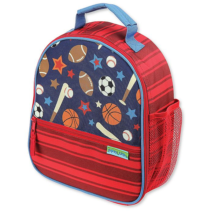 Alternate image 1 for Stephen Joseph® Sports Lunchbox in Red