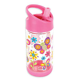 Stephen Joseph® Butterfly Flip Top Bottle in Pink