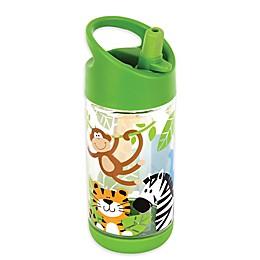 Stephen Joseph® Zoo Flip Top Bottle in Green
