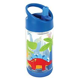 Stephen Joseph® Dino Flip Top Bottle in Blue